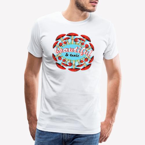 Fliegenpilz - Beautiful & toxic - Männer Premium T-Shirt