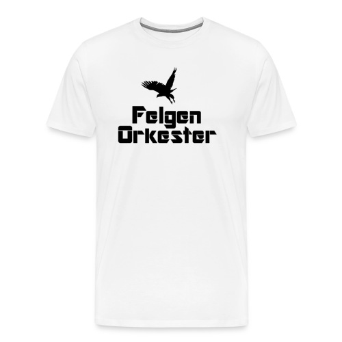 t skjorte sortlogo png - Premium T-skjorte for menn