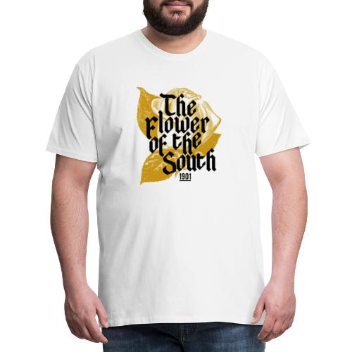 Flower of the south - Premium-T-shirt herr