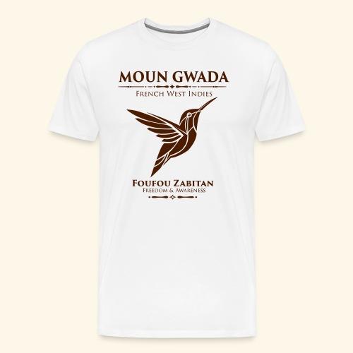 Moun Gwada-Foufou Zabitan - T-shirt Premium Homme