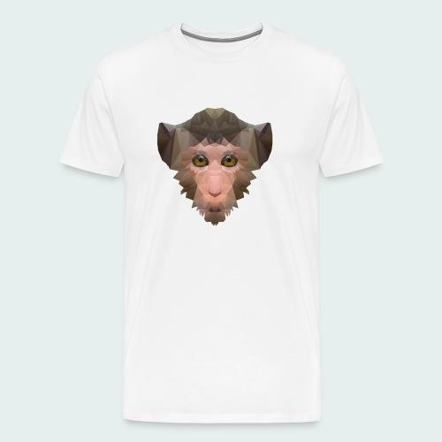 Polygon Monkey - Men's Premium T-Shirt