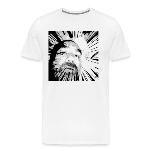 Shattered portrait - Men's Premium T-Shirt