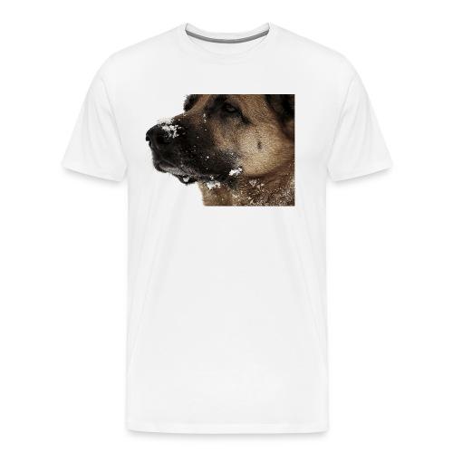 Stolze Schneekönigin - Männer Premium T-Shirt