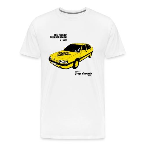 The Yellow Thunderstorm & Icon Enfant - T-shirt Premium Homme