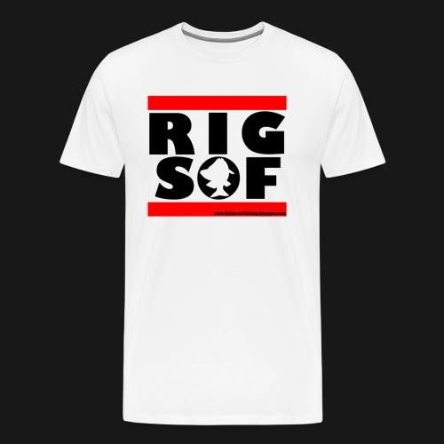 RUN SOF Black png - Männer Premium T-Shirt