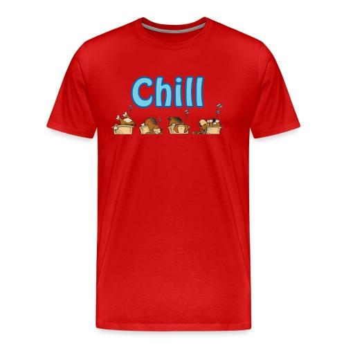 Chill - Premium T-skjorte for menn