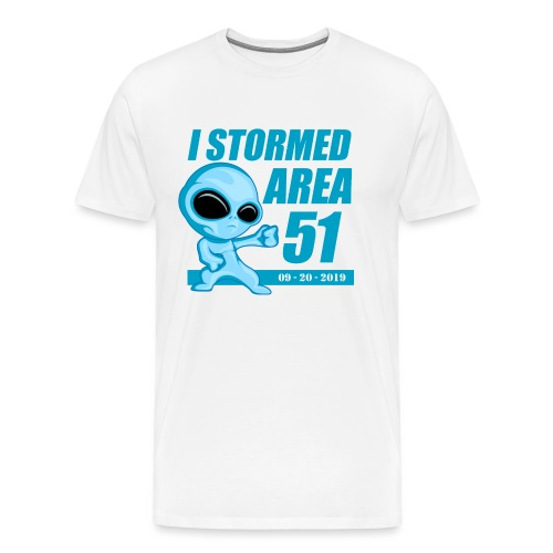 I Stormed Area 51 - Men's Premium T-Shirt