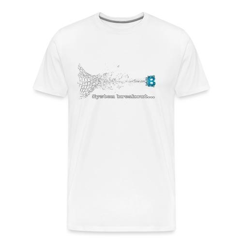 Breakout Blockchain - Männer Premium T-Shirt