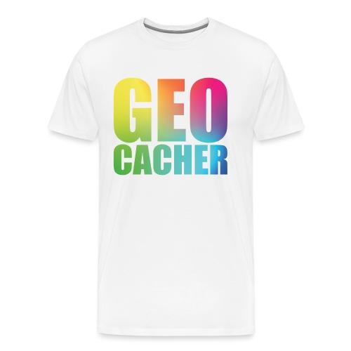 Geocacher (summer2016) - Miesten premium t-paita