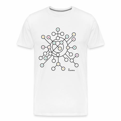 Crypto Brain - Men's Premium T-Shirt