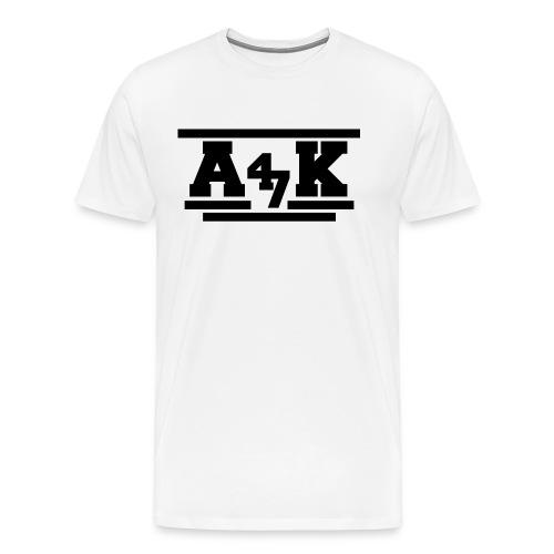 - A _K - - Men's Premium T-Shirt