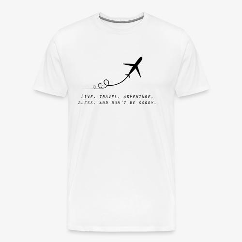 Travel Quotes 2 - Men's Premium T-Shirt