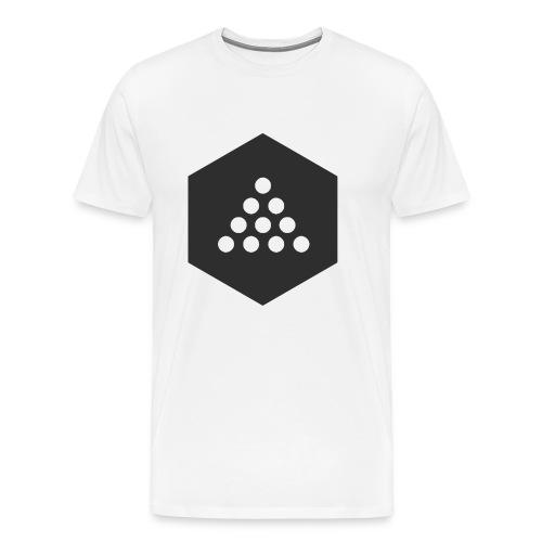 Wazup LOGO - Mannen Premium T-shirt