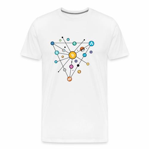 Crypto Road - Men's Premium T-Shirt