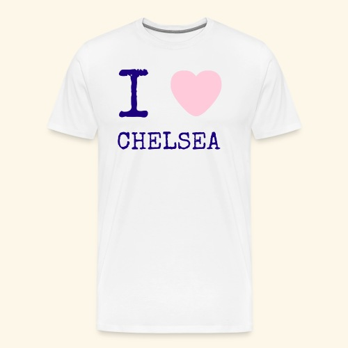 I Love Chelsea 2017 - Men's Premium T-Shirt