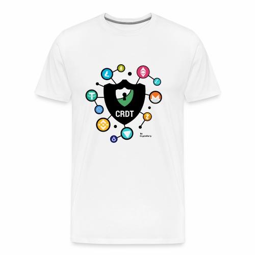 Crypto Daily Shield - Men's Premium T-Shirt