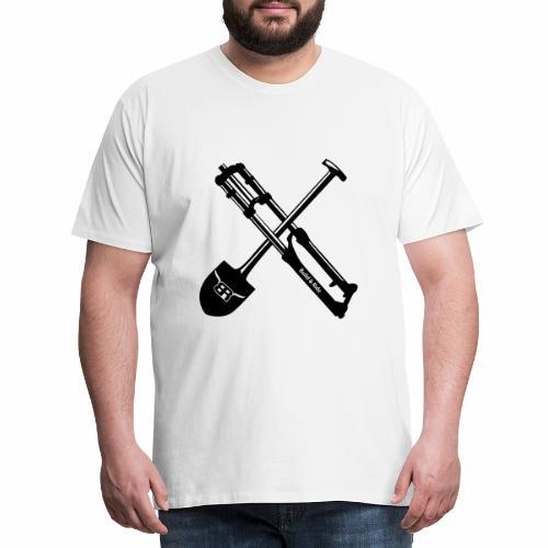No Dig, no ride - Männer Premium T-Shirt