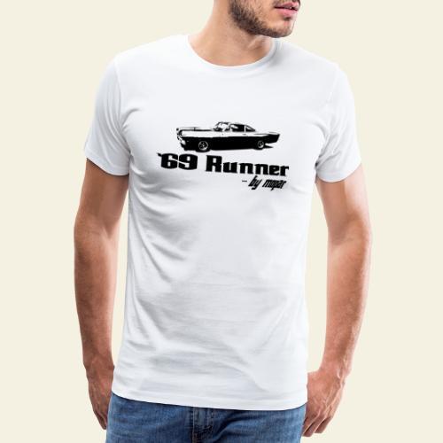 roadrunner 69 - Herre premium T-shirt