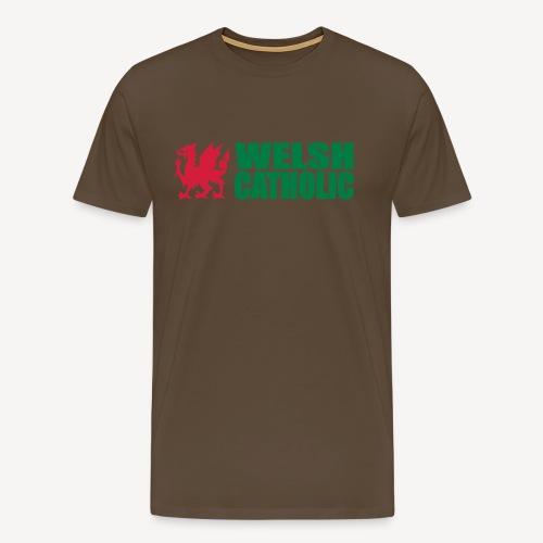 WELSH CATHOLIC - Men's Premium T-Shirt