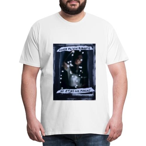 Cover Me With Blankets - Men's Premium T-Shirt