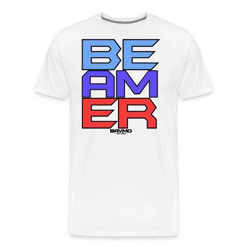 BEAMER PNG png - Männer Premium T-Shirt