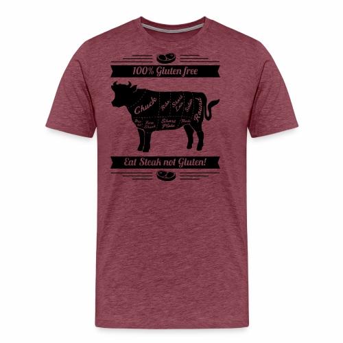 Humorvolles Design für Fleischliebhaber - Männer Premium T-Shirt