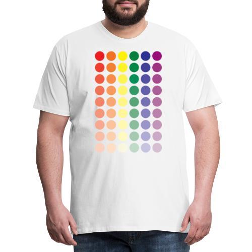Pride dots - Mannen Premium T-shirt