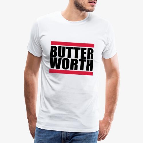 butterworth - Premium-T-shirt herr