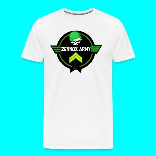 Zennox Army Design - Men's Premium T-Shirt