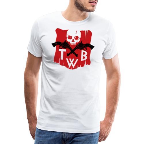 TWB logo - Maglietta Premium da uomo