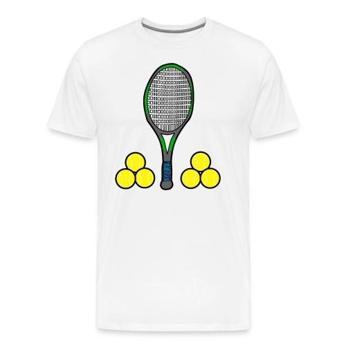 We love tennis - Männer Premium T-Shirt