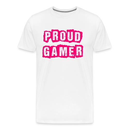 Proud Gamer - Männer Premium T-Shirt