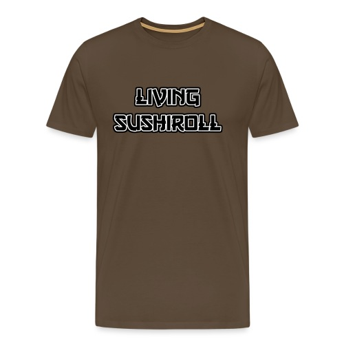 Living Sushiroll - Männer Premium T-Shirt