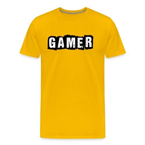 D 40 Gamer - Männer Premium T-Shirt