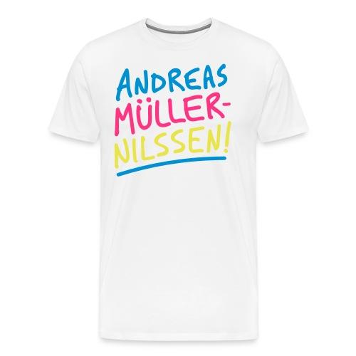 Andreas Müller-Nilssen - Premium T-skjorte for menn