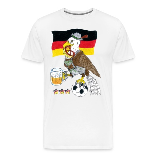 Deutscher Bundesadler - Männer Premium T-Shirt