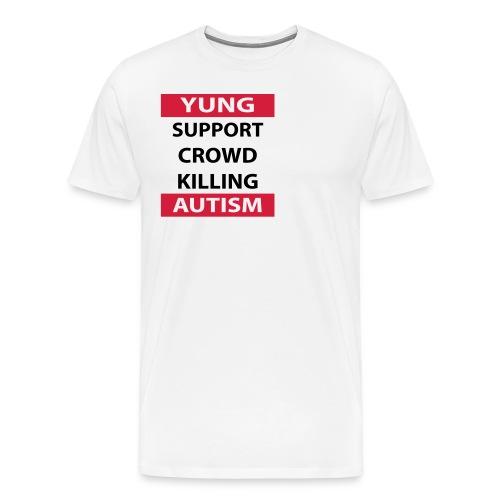 Crowdkill - Mannen Premium T-shirt