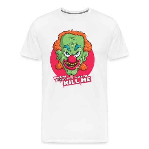 Clown - Koszulka męska Premium