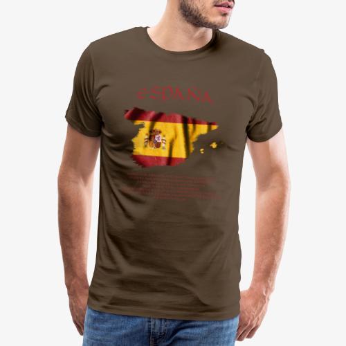 Spain Flag Bandera España - Männer Premium T-Shirt