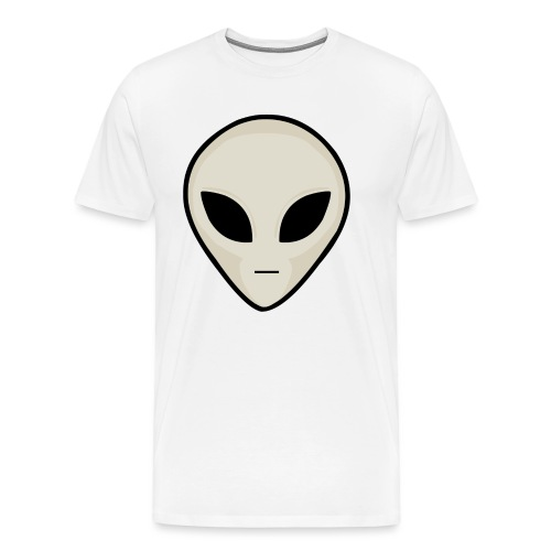 UFO Alien Head - Men's Premium T-Shirt