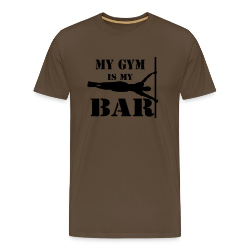 CALISTHENICS MY GYM IS MY BAR - Maglietta Premium da uomo