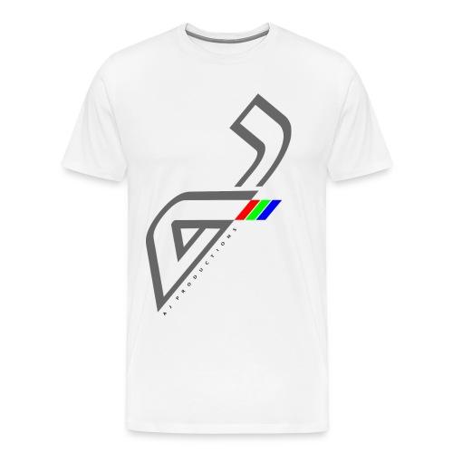 AJ Productions big front rgb png - Men's Premium T-Shirt