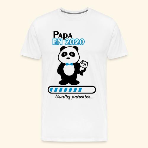 papa en 2020 - T-shirt Premium Homme