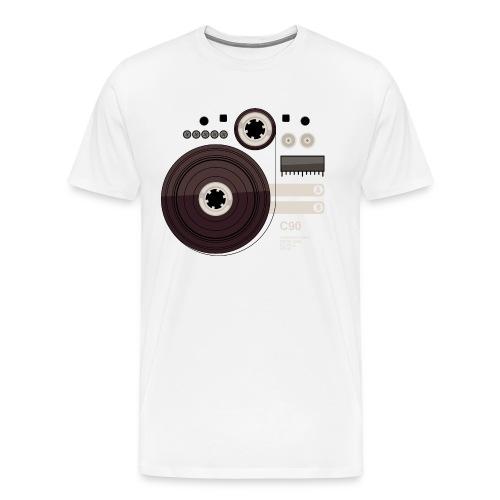 Tape parts: C90 - Men's Premium T-Shirt