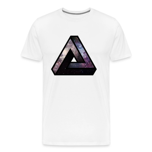 Space triangle - T-shirt Premium Homme