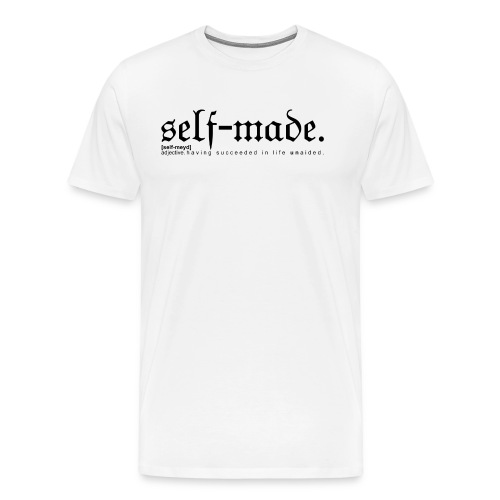 SELF-MADE WB - Men's Premium T-Shirt