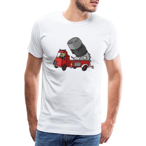 Wasserwerfer - Männer Premium T-Shirt