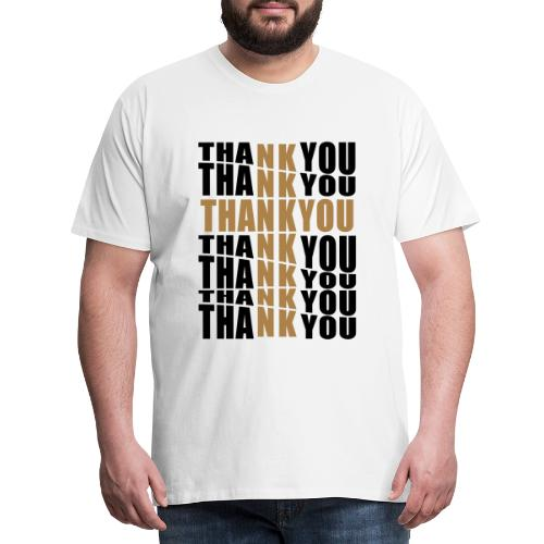 THANK YOU FOR THE CROSS - Men's Premium T-Shirt
