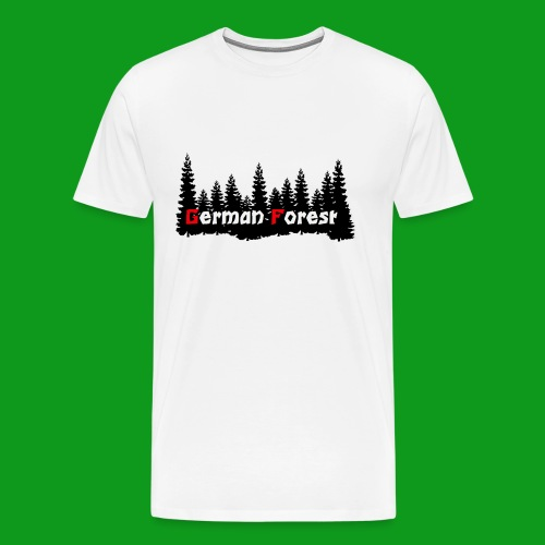 GermanForest 2 png - Männer Premium T-Shirt