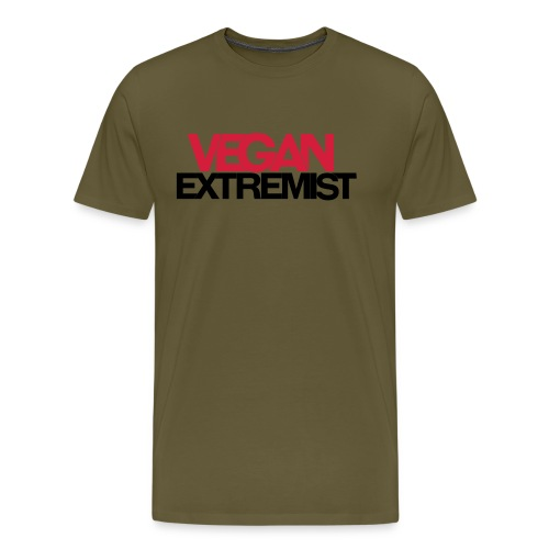 Vegan Extremist - T-shirt Premium Homme